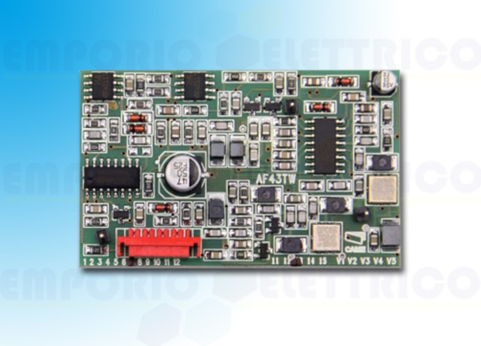 came plug in radio-frequency card 433,92 mhz af43tw 001af43tw