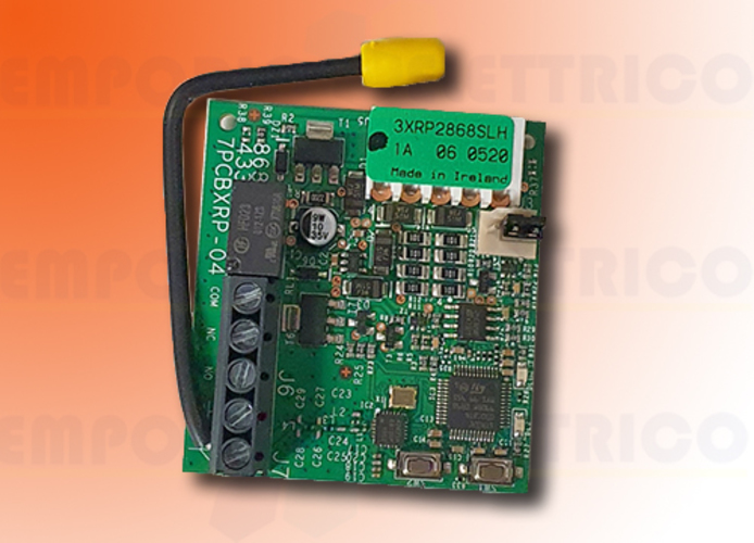 faac 2-channel plug-in receiver 868 mhz rp2 868 slh 787828 (new code 787855)