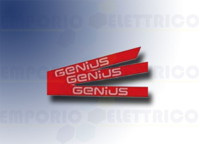 genius Kit Aufkleber genius Logo Stange simple 6100201