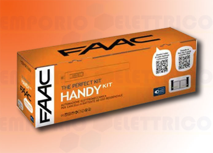 faac kit automazione 24v dc handy kit perfect 105915fr