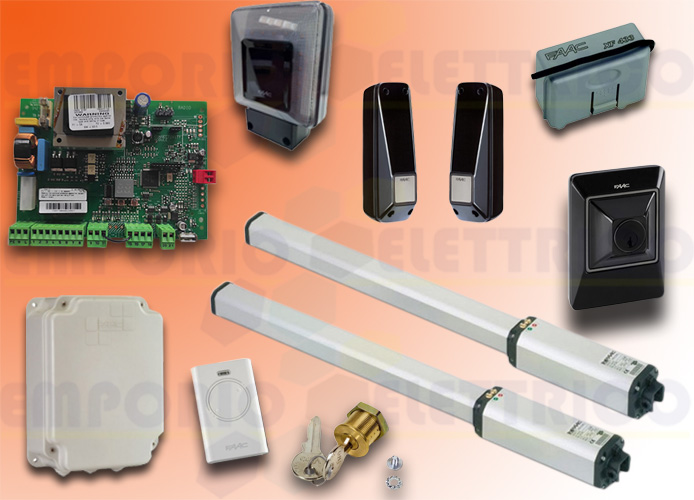 promo faac Automation Kit 230v ac leader kit green 105633445